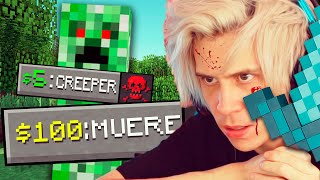 El Chat me DONA para TROLEARME en Minecraft