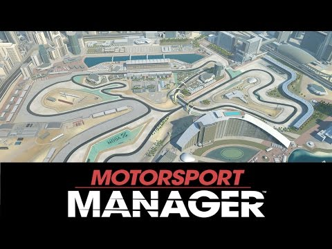 Motorsport Manager Gameplay Let's Play - Final Race for the Title in Dubai