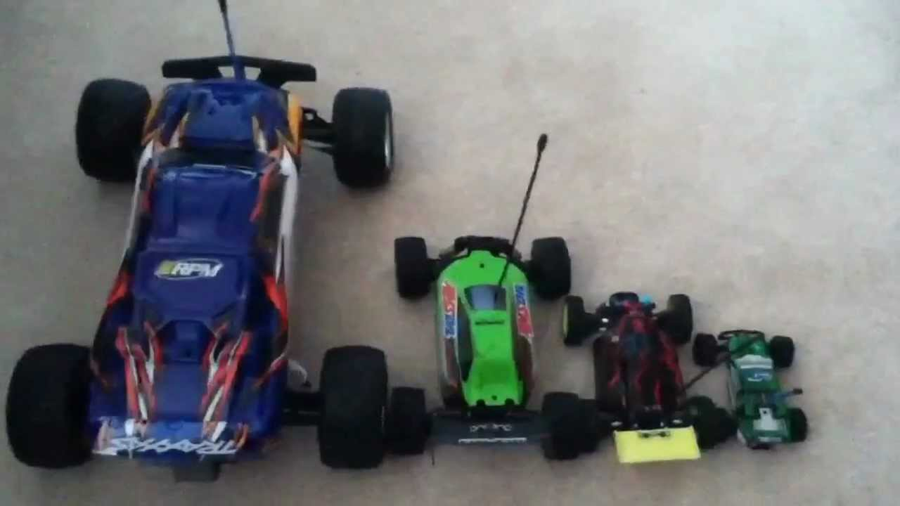 The Diffrences In Rc Scales Hd