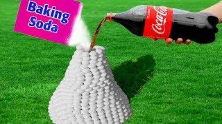 Top 20 Coca Cola Mentos and Baking Soda Experiments