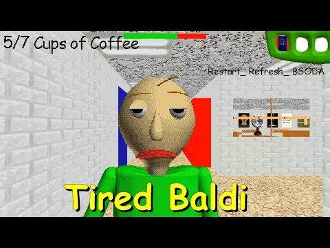 Tired Baldi - Baldi's Basics V1.4.3 Mod