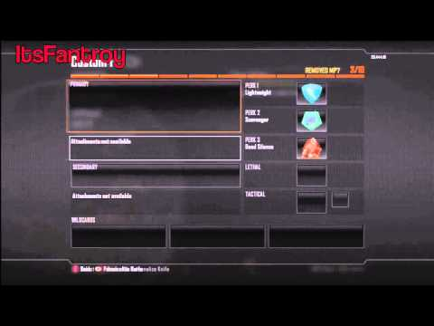 Black Ops 2 Glitches - Unlock Everything Glitch After Patch (Online)