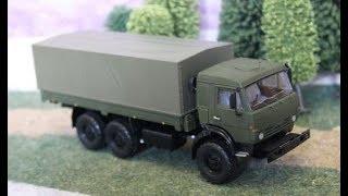 КамАЗ 5450 изготовление радиоуправляемой модели в масштабе 1:43 ЧАСТЬ 3