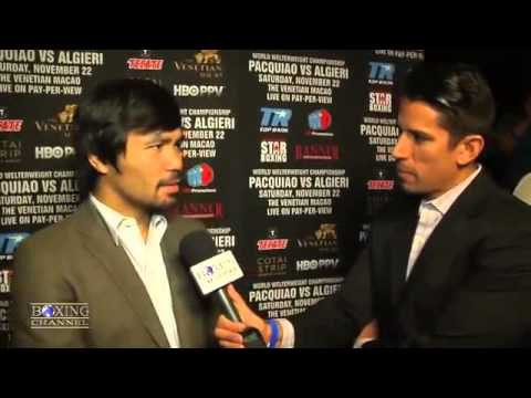Manny pacquiao Interview Bisaya Version