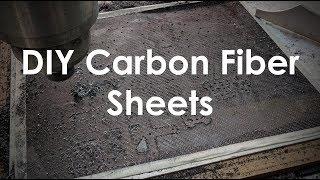 SUPER DIY Tutorial - Carbon Fiber Sheet