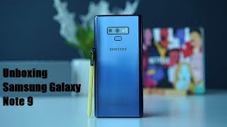 SAMSUNG GALAXY NOTE 9 UNBOXING DEL RE DEGLI SMARTPHONE