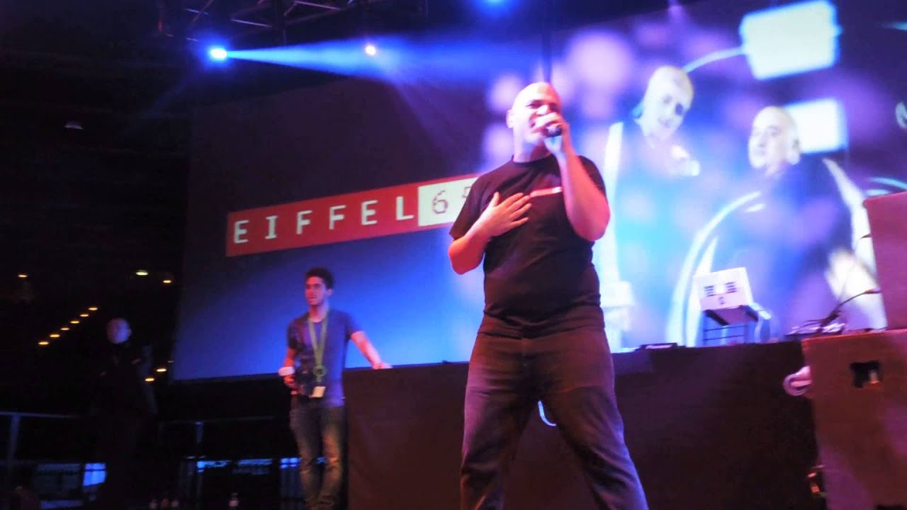 Eiffel 65 live in Berlin, Germany - Velodrom - 22.11.2014 (Full show)