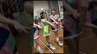 NMB48 山口夕輝(ゆっぴ)卒業公演前の円陣…涙