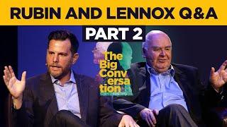 PART 2 Dave Rubin & John Lennox audience Q&A