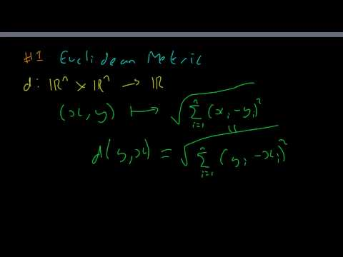 Topology #2 Metric Examples (Part 1)