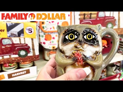 FAMILY DOLLAR SHOPPING!!! *50 CENT CLEARANCE * NEW FINDS + FALL DECOR!!!