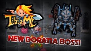 TibiaME - Everdragon boss battle (New Doratia Boss) - world 7!