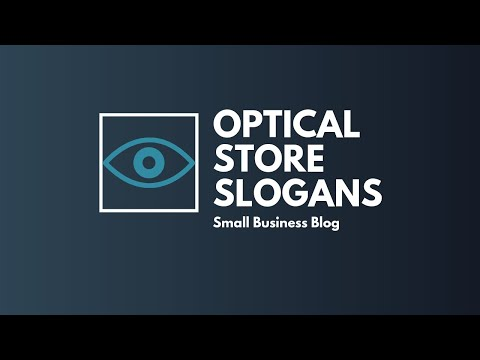 Catchy Optical Store Slogans