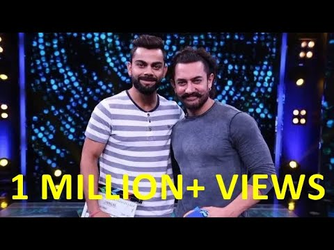 Virat Kohli And Aamir Khan Full Interview - Diwali Special