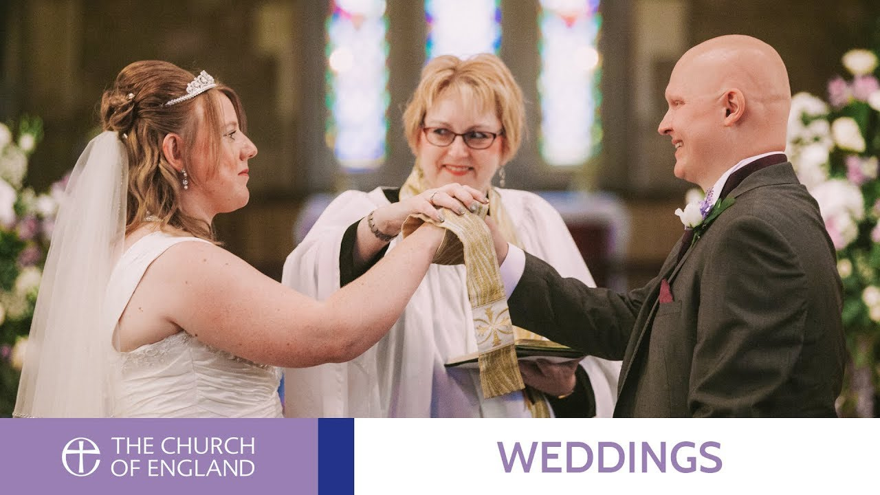 A Church of England wedding