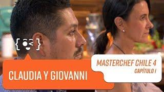 El grupo de Claudia y Giovanni   MasterChef Chile 4   Capítulo 1