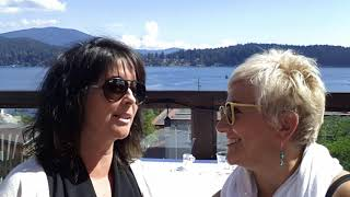Liza and Krista on the Sunshine Coast