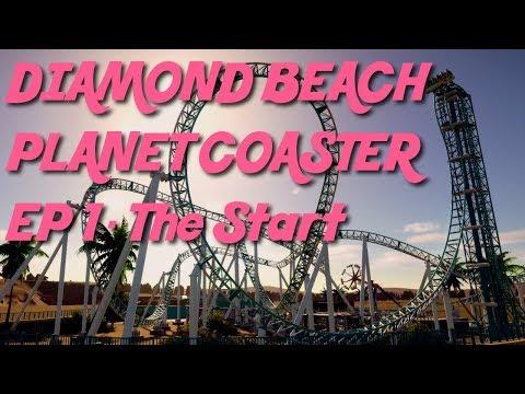 Diamond Beach - Planet Coaster - Episode 1