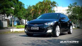 TV Leandrini Hyundai Veloster Aro 20 e Molas Esportivas H R