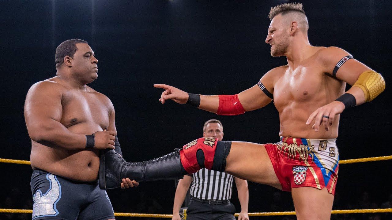 Keith Lee battles Dominik Dijakovic in jaw-dropping encounter: NXT, Sept. 25, 2019
