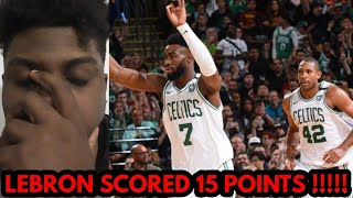 WE CANT GUARD NOBODY RANT REACTION !!!! Celtics vs Cavaliers Full Game 1 Highlights !!!!
