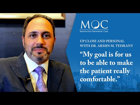 Up close and personal with Dr. Armin M. Tehrany, Top New York Orthopedic Doctor