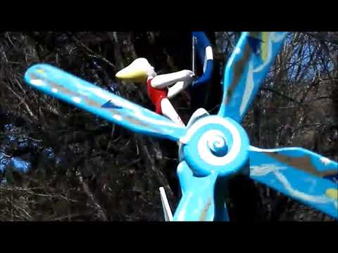 Free Energy!! Can you believe it? It's Another Great Day For Whirligigs!