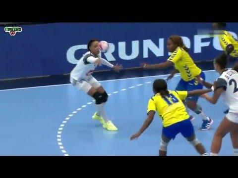 France VS RD Congo Handball Championnat du monde féminin 2015 Tour préliminaire