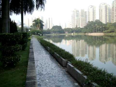 Shenzhen daxue campus lake
