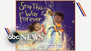 Linsey Davis' new children's book 'Stay This Way Forever'