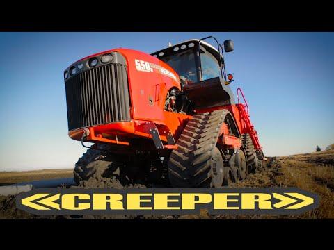 Versatile 550 DeltaTrack Creeper Testimonial - Manitoba