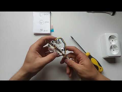 Как подключить розетку накладную?