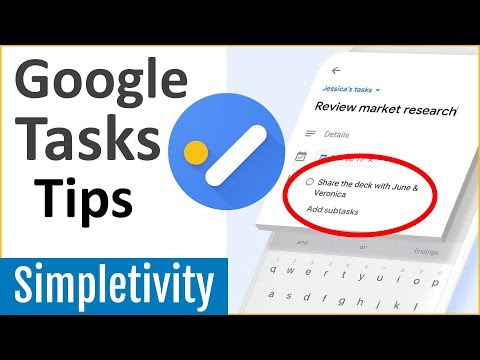 Top 5 Google Tasks Tips You Should Use Right Now! (2019)
