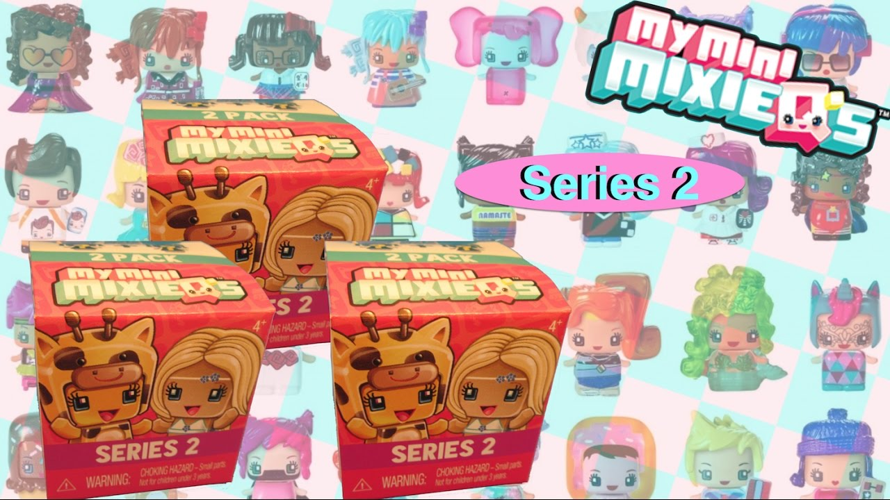 My mini mixie qs series 2 opening