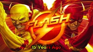 the flash vs reverse flash 15 years ago subtitle indonesia