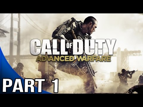 Call of Duty Advanced Warfare - Gameplay Walkthrough Part 1 - Mission 1 - Induction