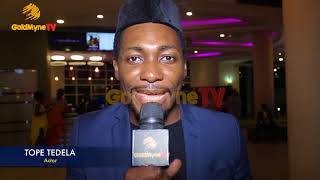 ACTOR TOPE TEDELA SHARES AN AUDITION EXPERIENCE - ON MY WAY