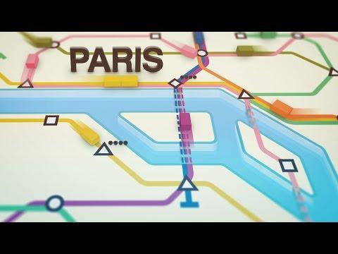 Mini Metro   Paris + Continuing in Endless
