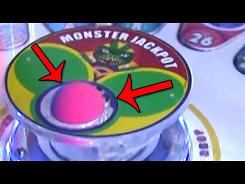 Monster Drop Arcade Game MAJOR Jackpot EXTREME WIN!