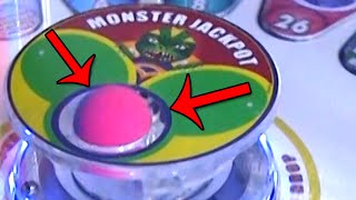 Monster Drop Arcade Game MAJOR Jackpot EXTREME WIN! | Matt3756​​​