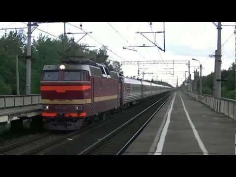ЧС2Т-1000 с поездом №15 Арктика Мурманск-Москва