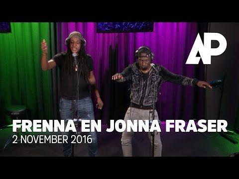 Jonna Fraser en Frenna doen 'Ik Kom Bij Je' live bij De Avondploeg