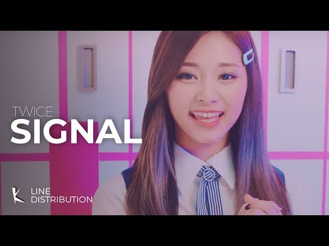 Thumbnail: Twice - Signal: Line Distribution (Color Coded)