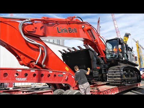 Link-Belt's Largest Excavator Leaving CONEXPO  2020
