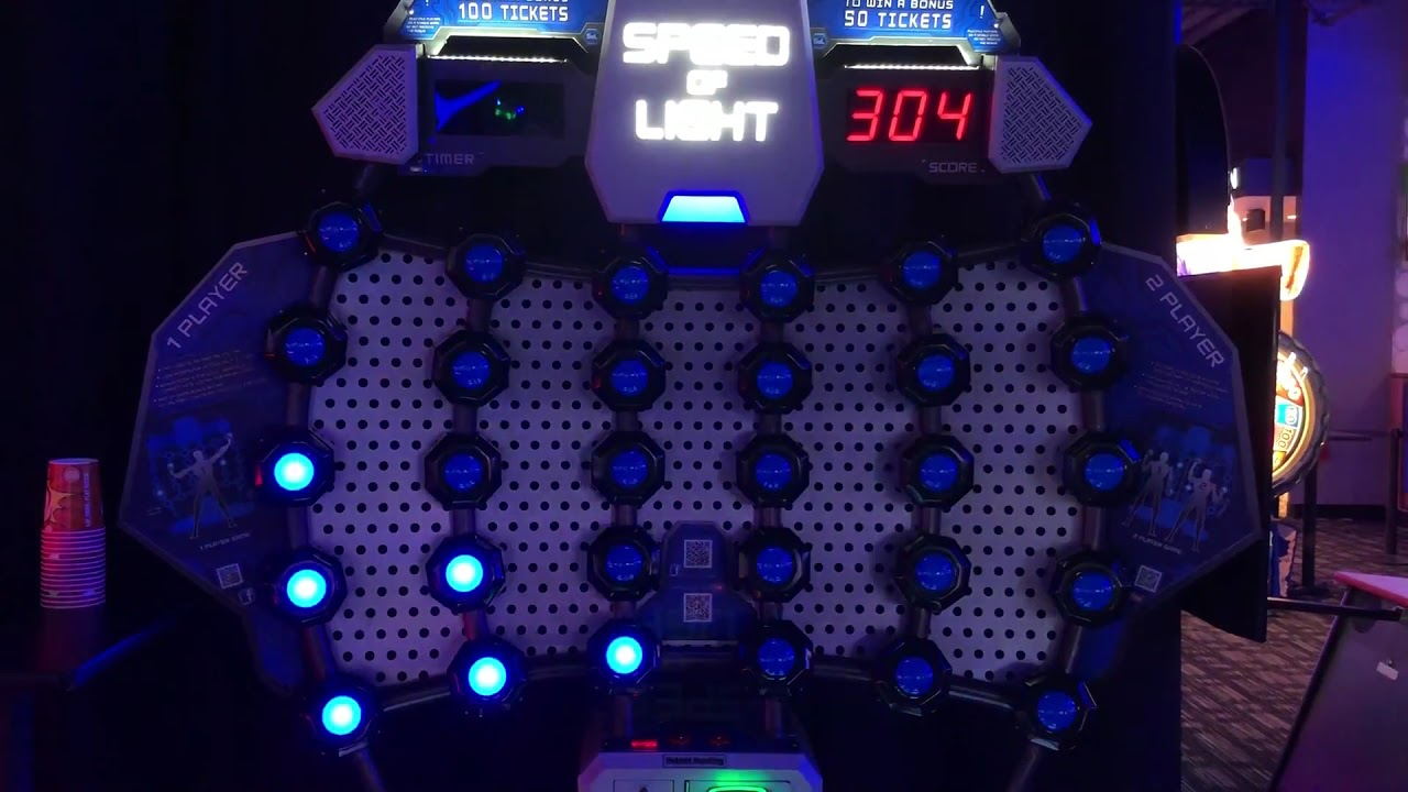 Speed Of Light Arcade Game At Dave Buster S In Salt