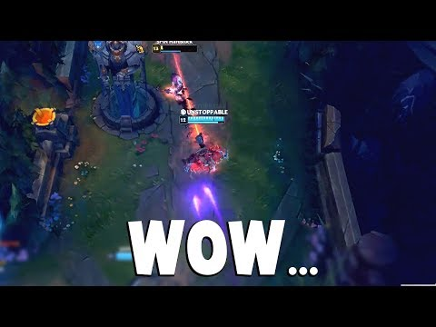 WHEN NOCTURNE DOES THE IMPOSSIBLE.. INSANE SAVE...    Funny LoL Series #341