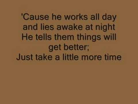 Casting Crowns - American Dream (with lyrics)