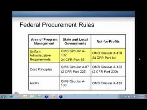 NSP Procurement Webinar - 6/3/10