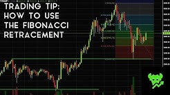 Trading Tip #6: How To Use The Fibonacci Retracement Tool