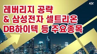 [김종철 증권알파고] 레버리지 공략 & 삼성전자…